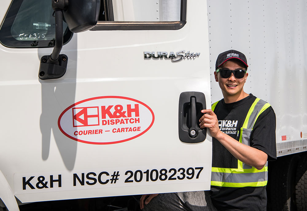 Cartage and Courier Services | K&H Dispatch | What We Do